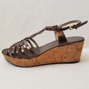 Tahari | Star Cork Wedges